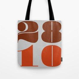 28th October Tote Bag