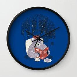 Parisian Bear Wall Clock