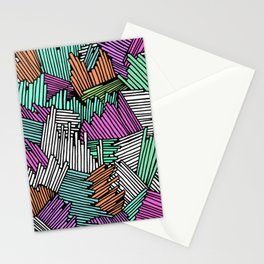 Happy Abstract Nr:04 Stationery Cards