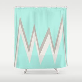 Turquoise Mountain Shower Curtain