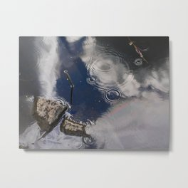 A Cloudy Rainy Day Metal Print