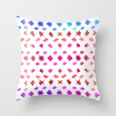 Watercolor experiment II Throw Pillow