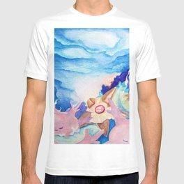 Sleeping Corsola Reef With Staryu T-shirt