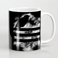 hunting Mugs featuring Hunting Symphony by Tobe Fonseca