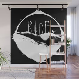 Mountains Ride Wall Mural