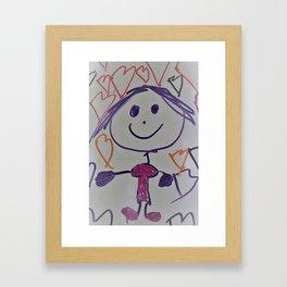Gabberita Framed Art Print