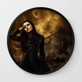 The night witch Wall Clock