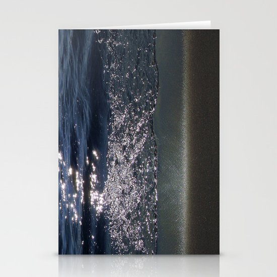 Cosmic Sparkling Ocean Stationery Cards