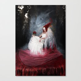 Bride of the earth Canvas Print