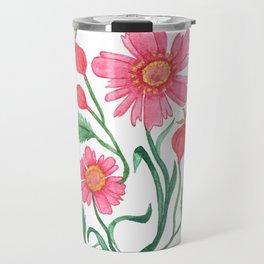 coreopsis & rose hips Travel Mug