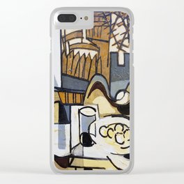 Mill of the wafer Clear iPhone Case