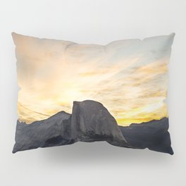 Yosemite National Park - Half Dome at Sunrise Pillow Sham