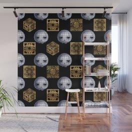 Chibi Pinhead & Puzzle Boxes Wall Mural