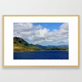 Kauai's Port Framed Art Print