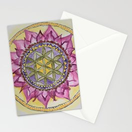 Sacred Lotus Stationery Cards