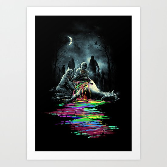 Midnight Snack Art Print