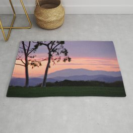 Saddleback Sunset Rug