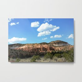 Mesas of New Mexico - Next to the Rock Amphitheater, No. 2 Metal Print