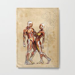 Our Bodies are One. Metal Print