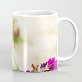 the flight of bumble bee on the bunes Coffee Mug
