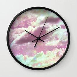 Unicorn Cloud Wall Clock