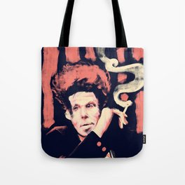 Drunken Piano and Tom - Abstract Portrait Tote Bag