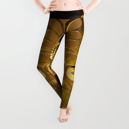 Anubis, the egyptian god Leggings
