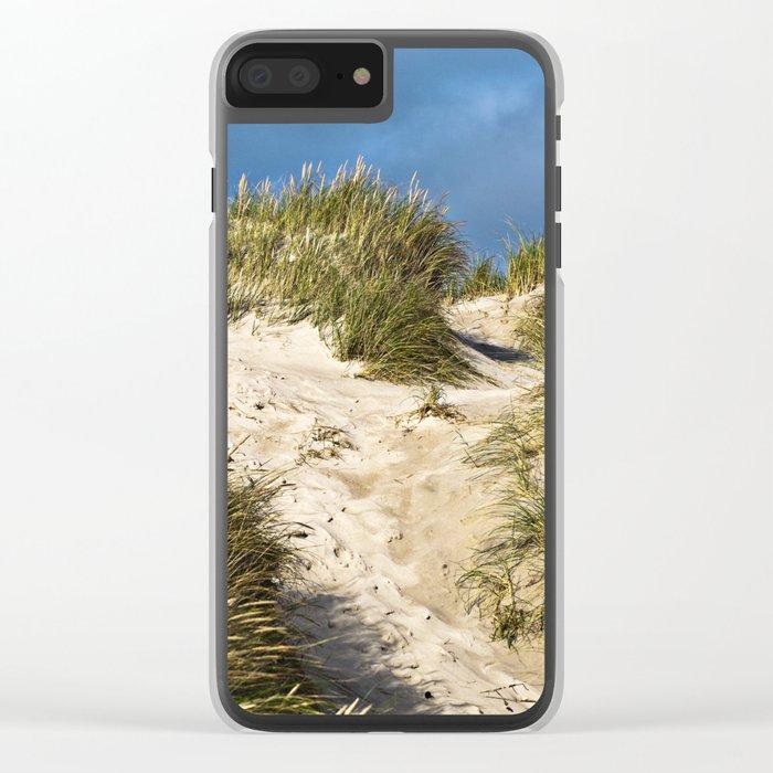 Scandinavian Sand Dune of Henne in Denmark Clear iPhone Case