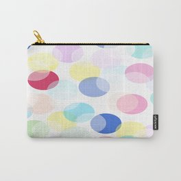 Oval pastel bubbles 2. Carry-All Pouch