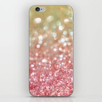 champagne iPhone & iPod Skins featuring Champagne Tango by Lisa Argyropoulos