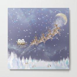 Reindeer wall art Metal Print