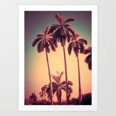 Palms Up Art Print