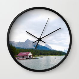 lac maligne, 2017 Wall Clock