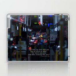 The Point Of Contact Laptop & iPad Skin