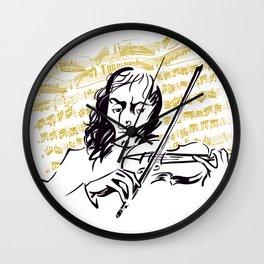 Paganini (3) Wall Clock