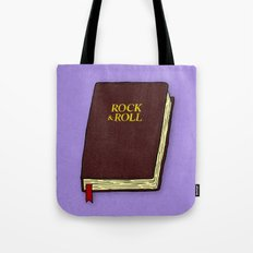 Rock & Roll Bible Tote Bag