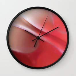 Pink in Abstract Wall Clock