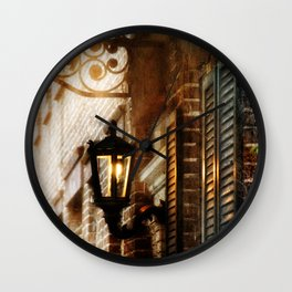 Meet Me By the Dull Pallor of an Old Gas Light Wall Clock