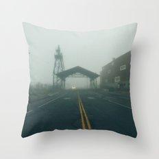 Uptown Fog Throw Pillow