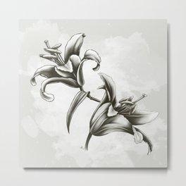 Fleur de lys Metal Print
