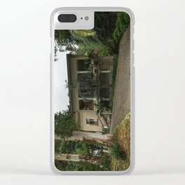 Stalin's summer house Clear iPhone Case