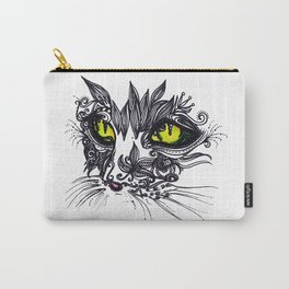 Intense Cat Carry-All Pouch