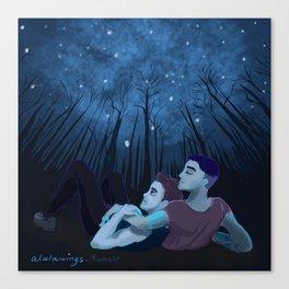 Ziam under the Stars Canvas Print