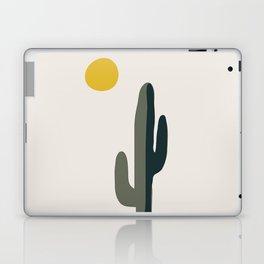 Cactus and the Rising Sun Laptop & iPad Skin