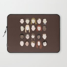 the office minimalist poster Laptop Sleeve