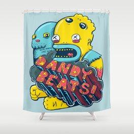 Dandy Beats Shower Curtain