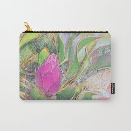 Protea Sketching in Bright Lights Carry-All Pouch