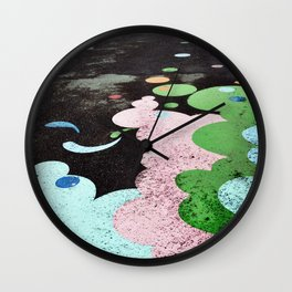 Spotted View Wall Clock