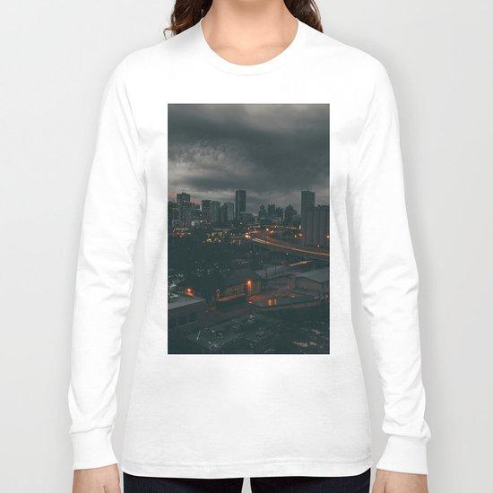 Night city Long Sleeve T-shirt