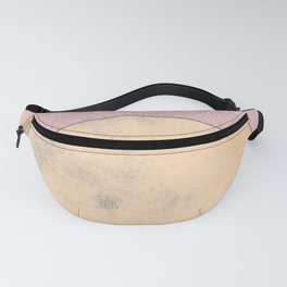 Imperial Rose - Moon Minimalism Fanny Pack